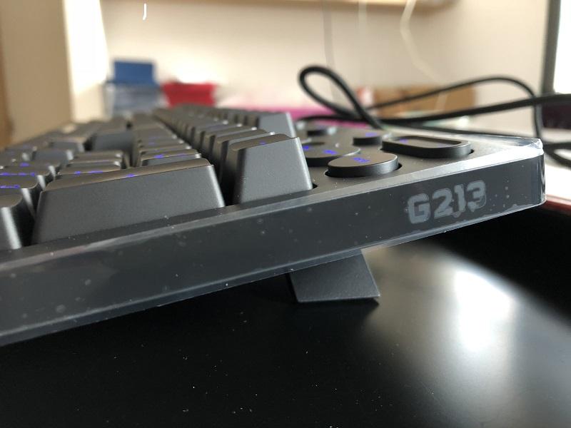 G213立てた状態で置いてみた