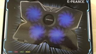 E-PRANCE Laptop Gaming Cooled Pad