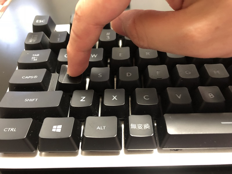 G413 キーキャップの付け方