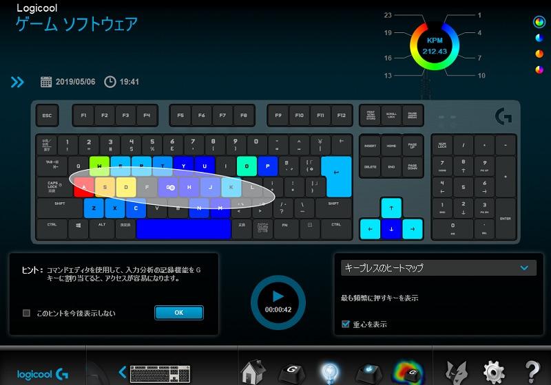 G413 ヒートマップ