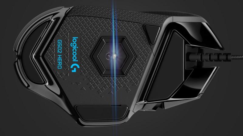 G502 HERO センサー