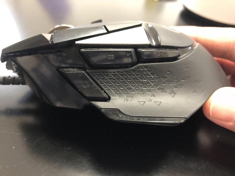 G502 HERO 側面
