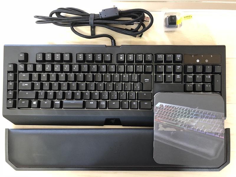 RAZER BLACKWIDOW CHROMA V2 パッケージ