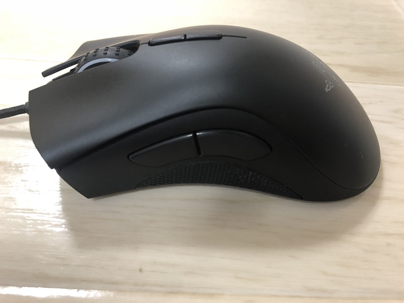 razer-deathadder-elite 左側